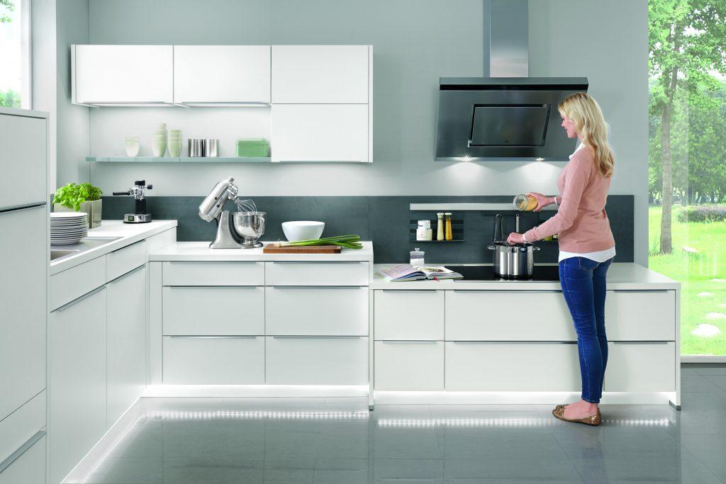 Diferentes alturas para la planificación de cocinas
