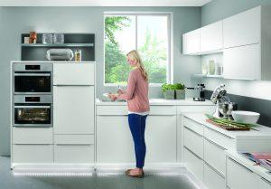 Diferentes alturas para planificar una cocina