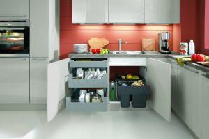 Orden y organización de muebles de cocina