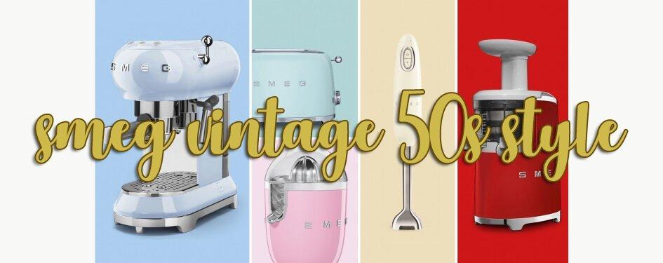 Smeg Vintage 50s style